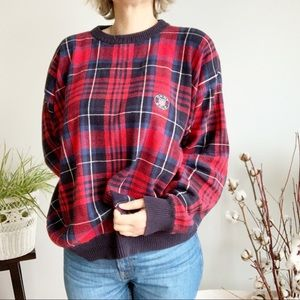 Gant USA Golf Red Blue Sweater M
